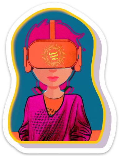 Echale VR Sticker
