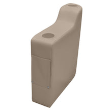 Wise 3009-1725 Premier Left Radius Arm Rest - Aftermarket Pontoon Furniture