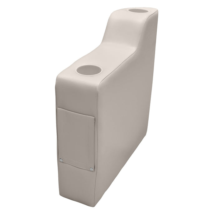 Wise 3010-990 Premier Right Radius Arm Rest - Aftermarket Pontoon Furniture