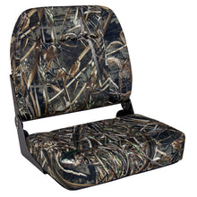 Wise Big Man Camouflage Edition 3057-733: Oversized Fishing Seat - Realtree Max 5
