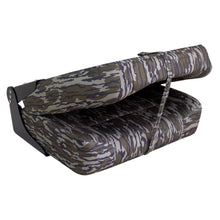 Wise Big Man Camouflage Edition 3057: Oversized Fishing Seat - Closed View