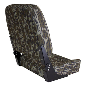 Wise Big Man Camouflage Edition 3057: Oversized Fishing Seat - Rear View