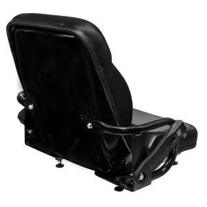 Wise Industrial 6R7182 Caterpillar Style Pan Frame Seat Assembly - Rear Right View