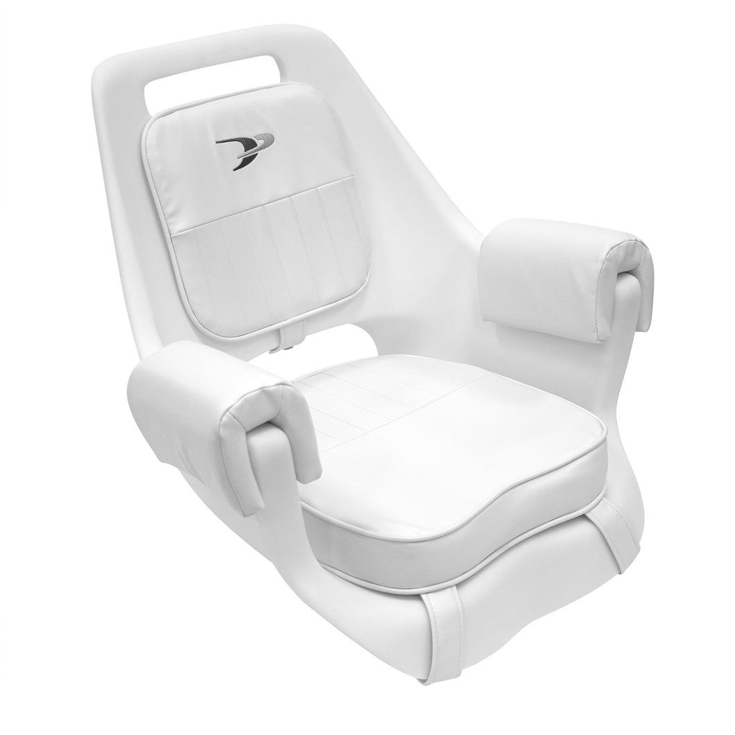 8WD007-3-710 Deluxe Pilot Chair w/ Cushions &  Mounting Plate