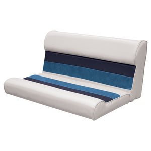 "Wise 8WD100-2-1008 Deluxe Pontoon Series 37"" Bench Cushions Only - Aftermarket Pontoon Furniture"