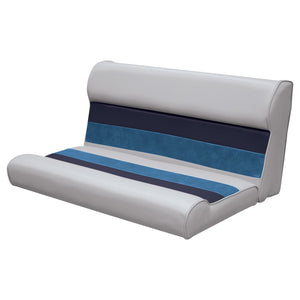 "Wise 8WD100-2-1011 Deluxe Pontoon Series 37"" Bench Cushions Only - Aftermarket Pontoon Furniture"