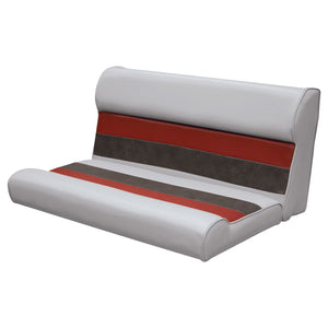 "Wise 8WD100-2-1012 Deluxe Pontoon Series 37"" Bench Cushions Only - Aftermarket Pontoon Furniture"