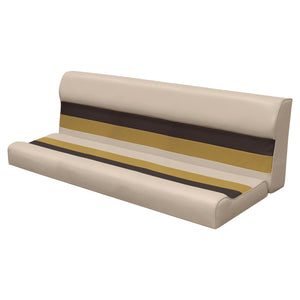 "Wise 8WD106-2-1010 Deluxe Pontoon Series 55"" Bench Cushions Only - Aftermarket Pontoon Furniture"