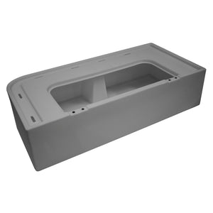 Wise 8WD109-221 / 8WD114-221 Deluxe Series Pontoon Corner Lounge Base Only - Aftermarket Pontoon Furniture