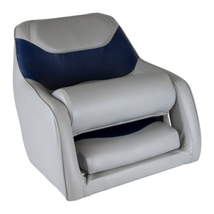 Wise 8WD1205 Standard Bucket Seat w/ Flip-Up Bolster