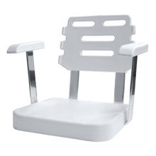 Wise 8WD562-1-710 Ladderback Helm w/ Molded Armrests - Seat Shell Only