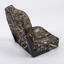 Wise 8WD617PLS High Back Camo Boat Seat - Rear View
