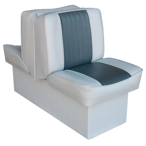 Wise 8WD707P-1-664 Deluxe Series Lounge Reclining Seat : Run-a-bout / Fish & Ski