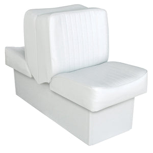 Wise 8WD707P-1-710 Deluxe Series Lounge Reclining Seat : Run-a-bout / Fish & Ski