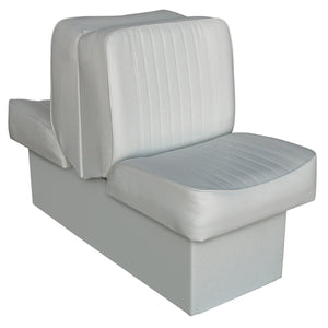 Wise 8WD707P-1-717 Deluxe Series Lounge Reclining Seat : Run-a-bout / Fish & Ski