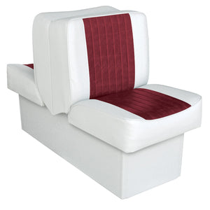 Wise 8WD707P-1-925 Deluxe Series Lounge Reclining Seat : Run-a-bout / Fish & Ski