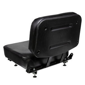 Wise Industrial 997198 Clark Style 2 Piece Universal Seat Assembly - Rear Left View