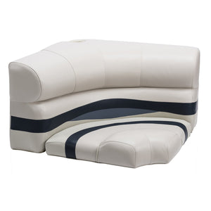 "Wise BM1146 Premier Pontoon 32"" Radius Corner Cushion Set"