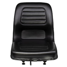 Wise Industrial WM1183A Hyster Style Molded Seat Assembly - Front View