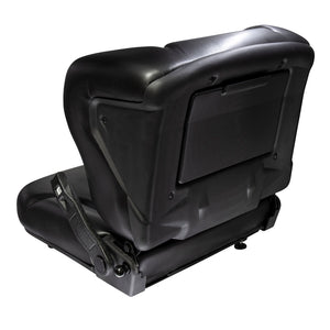 Wise Industrial WM1357 Toyota Style Molded Seat Assembly - Back Left View