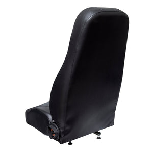 Wise Industrial WM1665 Trimline High Back Seat - Back View
