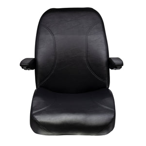 Wise Industrial WM1668 Trimline Low Back Seat w/ Arm Rests & Recline