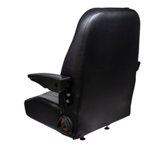 Wise Industrial WM1668 Trimline Low Back Seat - Rear Right View