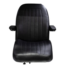 Wise Industrial WM1671 Trimline Low Back Seat - Front View
