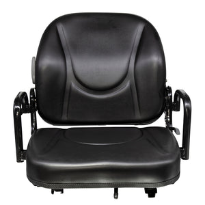 Wise Industrial WM1830 Doosan Style Fold Down Seat Assembly - Front View
