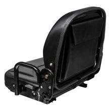 Wise Industrial WM1708P Doosan Style Fold Down Seat Assembly - Rear Left View