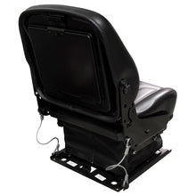 Wise Industrial WM1820 Fold Down Seat Assembly w/ Mechanical Suspension - Rear Right View