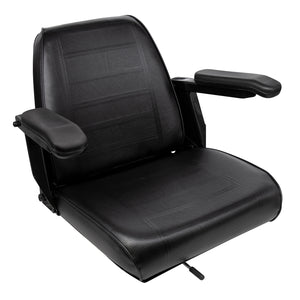 Wise Industrial WM684 Universal Bucket Seat Assembly w/ Armrests