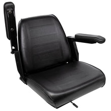 Wise Industrial WM684 Universal Bucket Seat Assembly w/ Armrests - Arm Up View