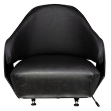 Wise Industrial WM748 Universal Pan Frame Bucket Seat - Front View