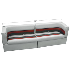 "Wise WS13532-1012 Deluxe Series Pontoon | 45"" Couch Back Rail Group"