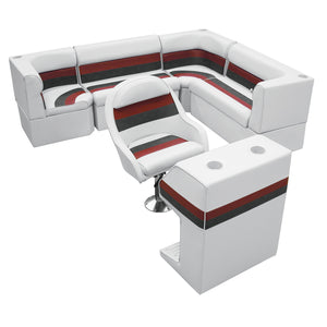 "Wise WS13537-1009 Deluxe Series Pontoon | 86"" Rear L Group"