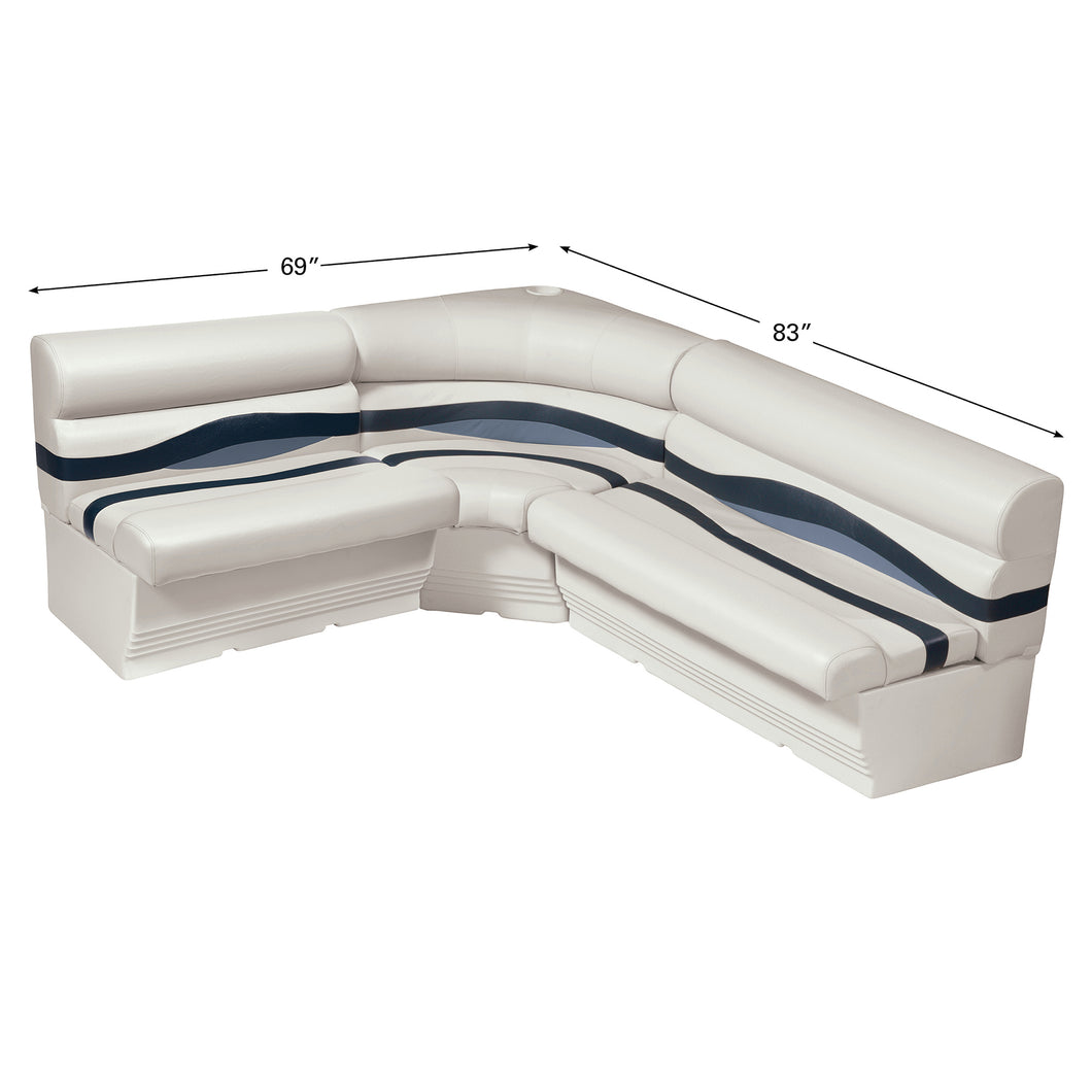Wise WS14006-986 Premier Series Pontoon | 8.5' Wide Rear Entry Group