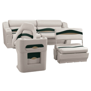 Wise WS14008-988 Premier Series Pontoon | Traditional Rear Seat Group
