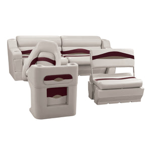 Wise WS14008-989 Premier Series Pontoon | Traditional Rear Seat Group