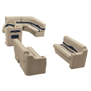 Wise WS14014-1730 Premier Series Pontoon | 8' Wide Rear Entry Group