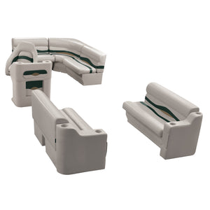 Wise WS14014-988 Premier Series Pontoon | 8' Wide Rear Entry Group