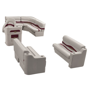 Wise WS14014-989 Premier Series Pontoon | 8' Wide Rear Entry Group