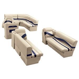 Wise WS14016-1730 Premier Series Pontoon | 8.5' Wide Rear Entry Group