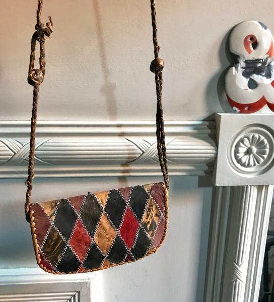 VINTAGE HARLEQUIN PURSE