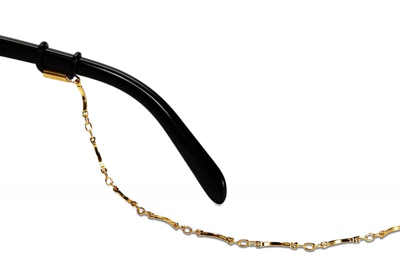 SWALLOW EYE 01 | Black/Gold W/ TAN GRADIENT LENSES