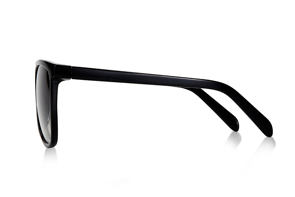 SWALLOW EYE03 | Black/Matte Black W/ GREY GRADIENT LENSES