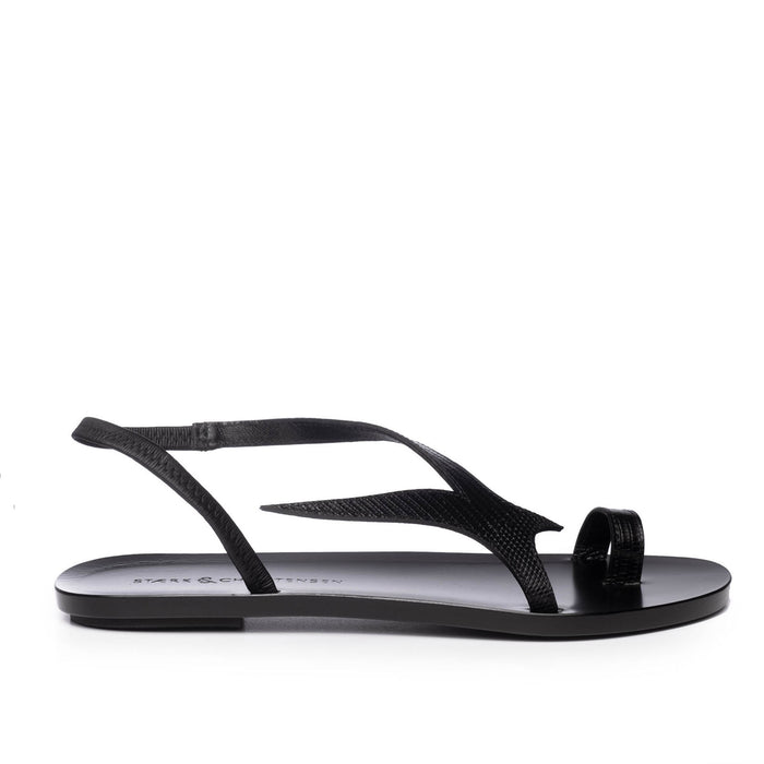 THE SWALLOW SANDAL | BLACK