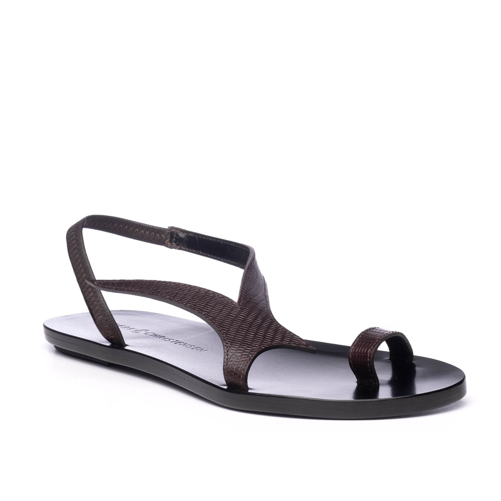 THE SWALLOW SANDAL | BROWN