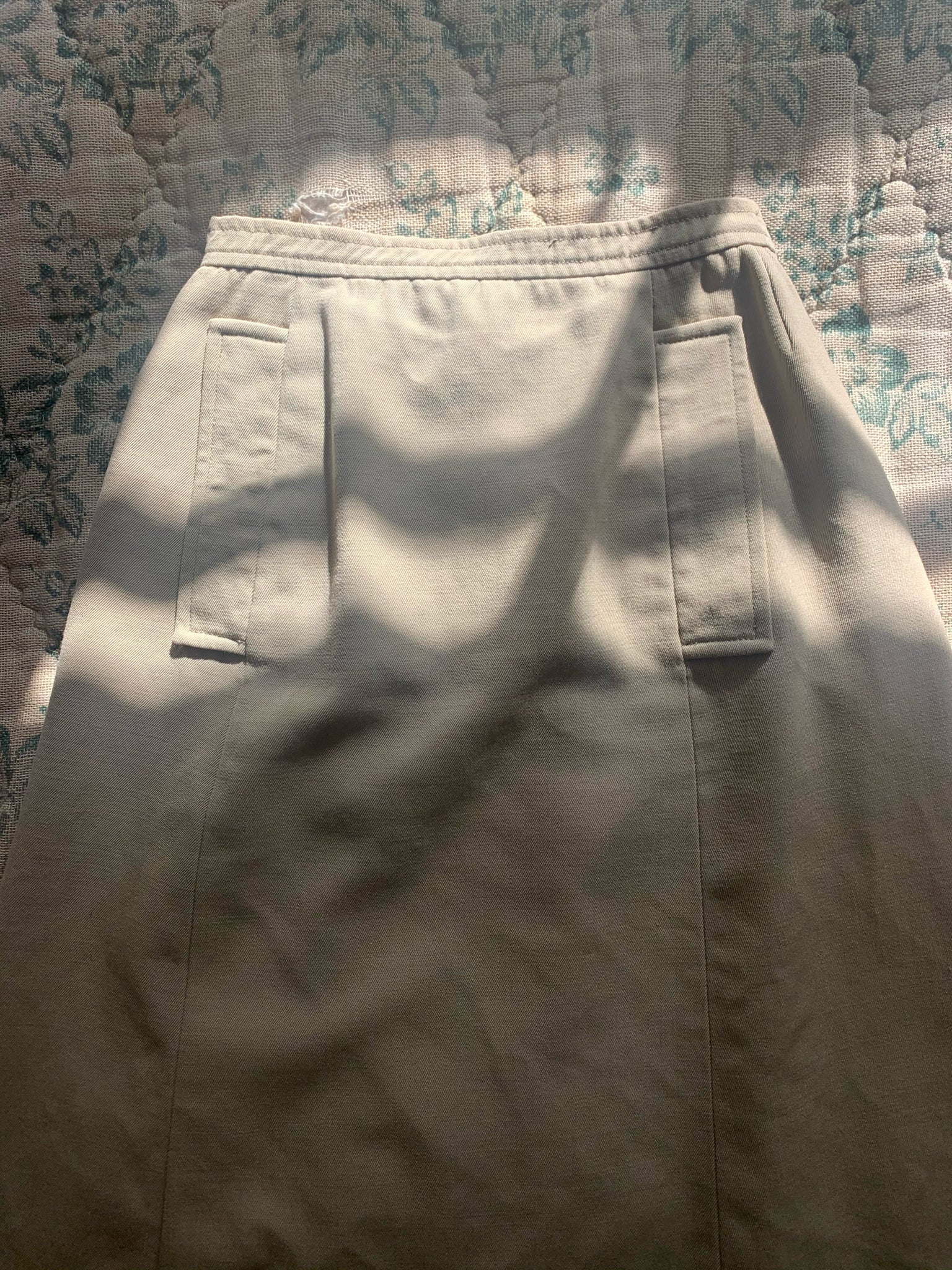 YVES SAINT LAURENT SAFARI SKIRT