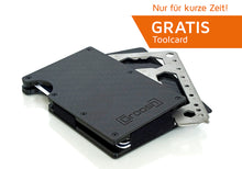 Laden Sie das Bild in den Galerie-Viewer, Cardholder Carbon Sonderaktion inkl. Toolcard Pro